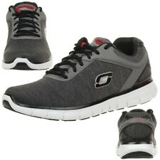 Skechers Synergy Instant Reaction Men's Sneakers Fitness Shoes Grey Lightweight