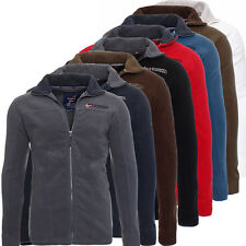 GEOGRAPHICAL NORWAY Texas Hommes Hiver Veste polaire sweat à Capuche