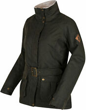 REGATTA Womens Laurissa Waterproof Insulated Jacket - Dark Khaki