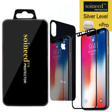 SOINEED Apple iPhone X Mirror Front & Back(2PCS) Tempered Glass Screen Protector