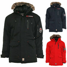 Geographical Norway giacca invernale uomo NUOVO Donnuts Inverno a Vento colori ✔