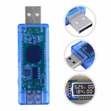 USB Volt Current Voltage Doctor Charger Capacity Power Bank Tester Meter QQ