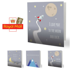 Adorable Childrens Greetings Cards for Baby Pregnancy Mum Kids Christenings Cute