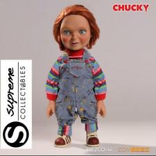 """TALKING CHILDS PLAY 15"""" TALKING CHUCKY GOOD GUY 1/4 SCALE ACTION FIGURE MEZCO"""