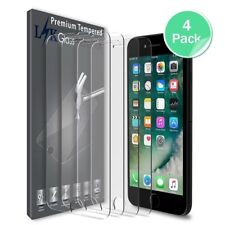 iPhone 6 6s Plus Heavy Duty Tempered Glass Screen Protector 3D Curved 9H 4 Pack