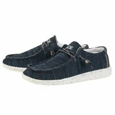 Mens Hey Dude Wally Sox Azure Shoes New In