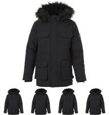 OFFERTA Bellfield Junior Oversized Arctic Parka Black 6-7 Years 116cm Height Si