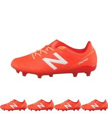 OFFERTA New Balance Junior Visaro Control FG Football Boots Lava/Fireball/Impul