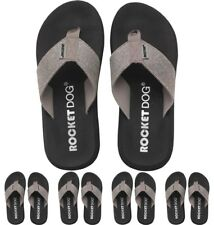 DI MODA Rocket Dog Womens Spotlight Odyssey Flip Flops Silver UK 3 Euro 36