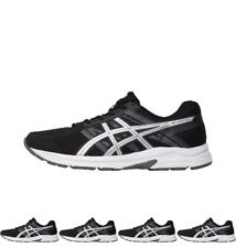 OFFERTA Asics Mens Gel Contend 4 Neutral Running Shoes Black/Silver/Carbon UK 6