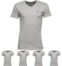 DI MODA Duck and Cover Mens Share T-Shirt Light Grey Marl Small Chest 36-38""