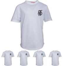 OFFERTA DFND London Boys Wilshaw T-Shirt White Age 5-6 Years 110cm Height Size 5