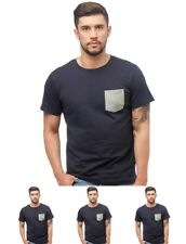 FASHION JACK AND JONES Mens Alex T-Shirt Total Eclipse Small Chest 39""
