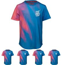 OFFERTA DFND London Boys Index Sublimation Print T-Shirt Blue Age 5-6 Years 110
