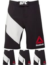 MARCHIO Reebok Mens UFC Octagon Shorts Black/Chalk Small Waist 30""