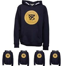 DI MODA Kangaroo Poo Boys Fleece Hoody Navy 5-6 Years 116cm Height Size 5
