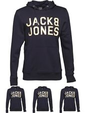 DI MODA JACK AND JONES Mens Multi Sweat Hoody Navy Blazer Small Chest 39""