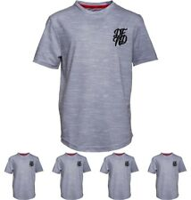 OFFERTA DFND London Boys Wilshaw T-Shirt Grey Age 5-6 Years 110cm Height Size 5