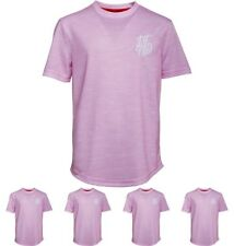 OFFERTA DFND London Boys Wilshaw T-Shirt Pale Pink Age 5-6 Years 110cm Height S