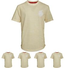 OFFERTA DFND London Boys Wilshaw T-Shirt Lemon Age 5-6 Years 110cm Height Size 5