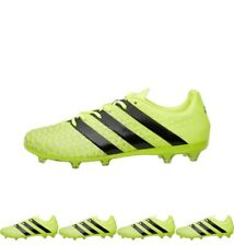OFFERTA adidas Mens ACE 16.2 FG Football Boots Solar Yellow/Core Black/Silver M