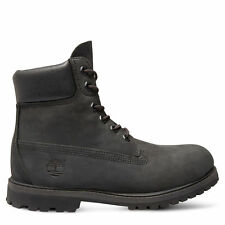 TIMBERLAND Mujer 6-inch Premium Impermeable Botas Negro & Negro 8658a