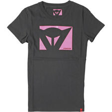 Motorcycle Dainese Color New T Shirt - Black Pink UK Seller