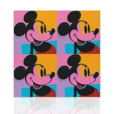 Quadro Topolino Pop Art Stampa su Tela Pop Art Quadro Disney Mickey Mouse Declea