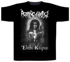 Rotting Christ ' elthe Kyrie ' T-SHIRT - Nuevo y Oficial