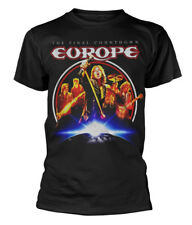 Europe' The Final Countdown ' T-SHIRT - Nuevo y Oficial