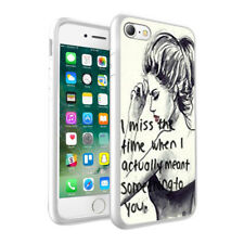 Quotations Design Hard Phone Case Skin Cover For Various Phone Models 0019