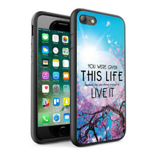 Quotations Design Hard Phone Case Skin Cover For Various Phone Models 0030