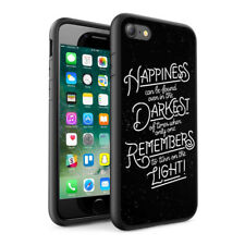 Quotations Design Hard Phone Case Skin Cover For Various Phone Models 0077