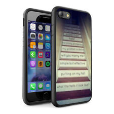 Quotations Design Hard Phone Case Skin Cover For Various Phone Models 0087