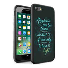 Quotations Design Hard Phone Case Skin Cover For Various Phone Models 0089