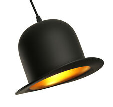Jeeves Wooster Bowler Top Hat Lamp Shade Pendant