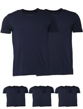 FASHION Emporio Armani Mens Two Pack T-Shirt Navy/Navy Small Chest 37-39""