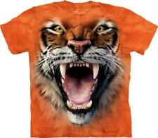 """The Mountain Kinder T-Shirt """"Roaring Tiger Face"""""""
