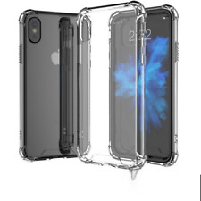 Shockproof 360° Silicone Protective Clear Case Cover For iPhone X 8 7 PLUS