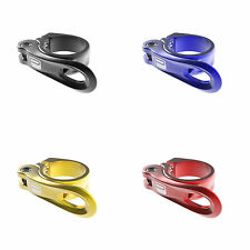 Promax QR-1 Quick Release Seat Clamp 31.8mm Black, Blue, Gold, Red