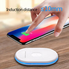 Qi Wireless Charger Charging Pad for Samsung Galaxy Note 8/S8+ Apple iPhone X/8