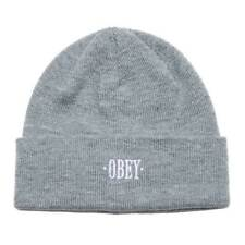 Gorra Obey Tiempos De Gorro Heather Gris