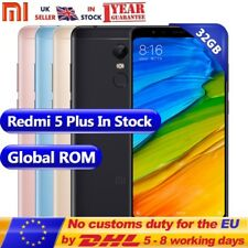 "Xiaomi Redmi 5 Plus 5.99 "" Snapdragon 625 GHz Octa Core 32 GB 3GB RAM"