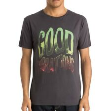 Tee-shirt Garment Dyed Good Vibrations gris Homme Quiksilver