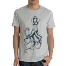 Tee-shirt Octopussy gris Homme Quiksilver