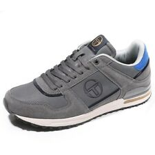 Chaussures Veloce Nubuck Gris Homme Sergio Tacchini