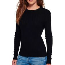 Pull Luxe Mini Cable Marine Femme Superdry