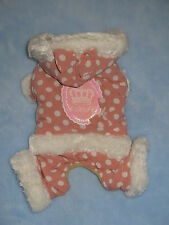 Small pet dog warm winter clothes Chihuahua puppycoat Yorkie apparel Size - M