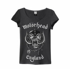Motorhead 'ENGLAND' Womens T-shirt - Amplified Clothing - NUOVO E ORIGINALE