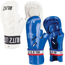 Blitz Dipped Foam Foot Pads Gloves Mitts Padded Karate Martial Arts Kick Boxing